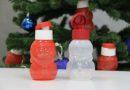 "Эко-бутылочки ""Дед мороз"" и ""Снеговик"" 350 мл."