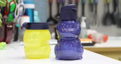 Детский набор: Эко-бутылочка 350 мл. + закусочный стаканчик 350 мл.